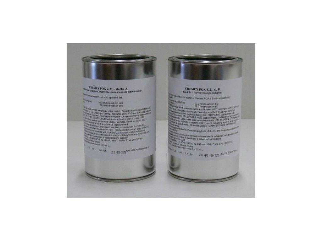 Chemex POX Z21 epoxidová živica na zalievanie číra 6,45kg TOP kvalita