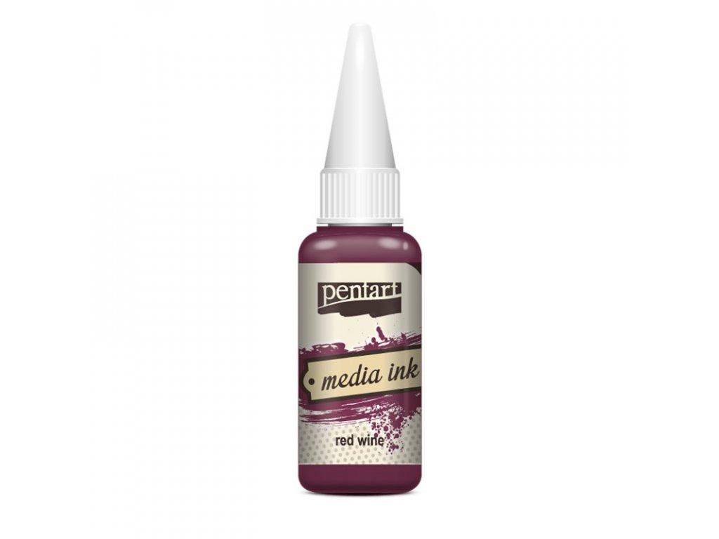 Media INK atrament farbivo do epoxidovej živice 20ml červené víno 21020