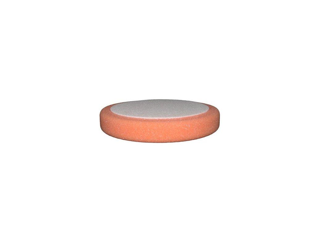 Leštiaci kotúč BODY APP na suchy zips D75mm oranžový stredný