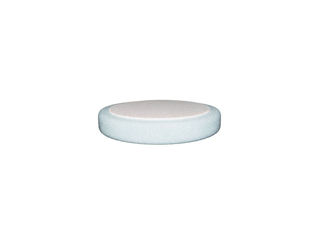 Leštiaci kotúč ETALON na suchy zips 150 x 25mm biely tvrdý