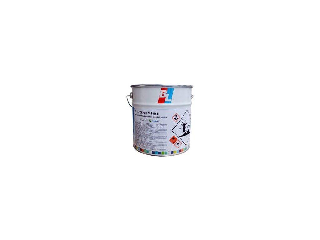 Telpur S210  E polyuretánová jednošichtová 1kg polomat RAL vzorkovnik