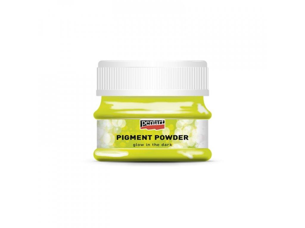 Pigmentový prášok - svieti v tme 12g 34353