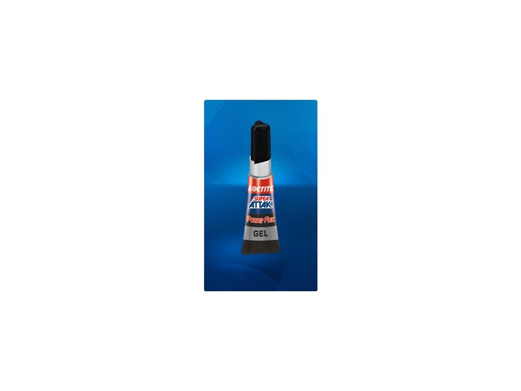 Loctite Power Flex Gel 3g sekundové lepidlo