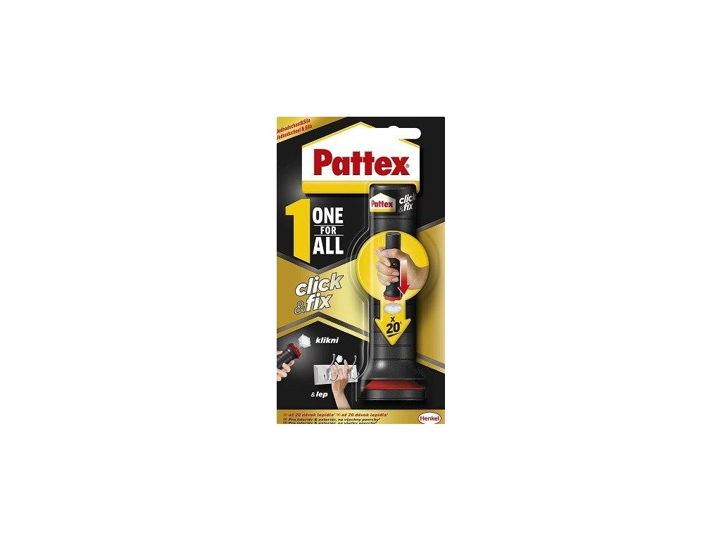 Pattex one for all click fix 30g lepidlo