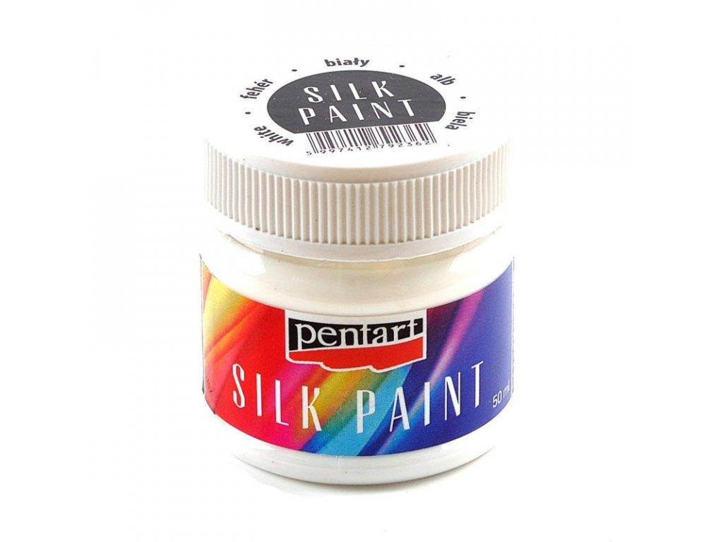 Farba na hodvab biela 50ml 17802 silk paint