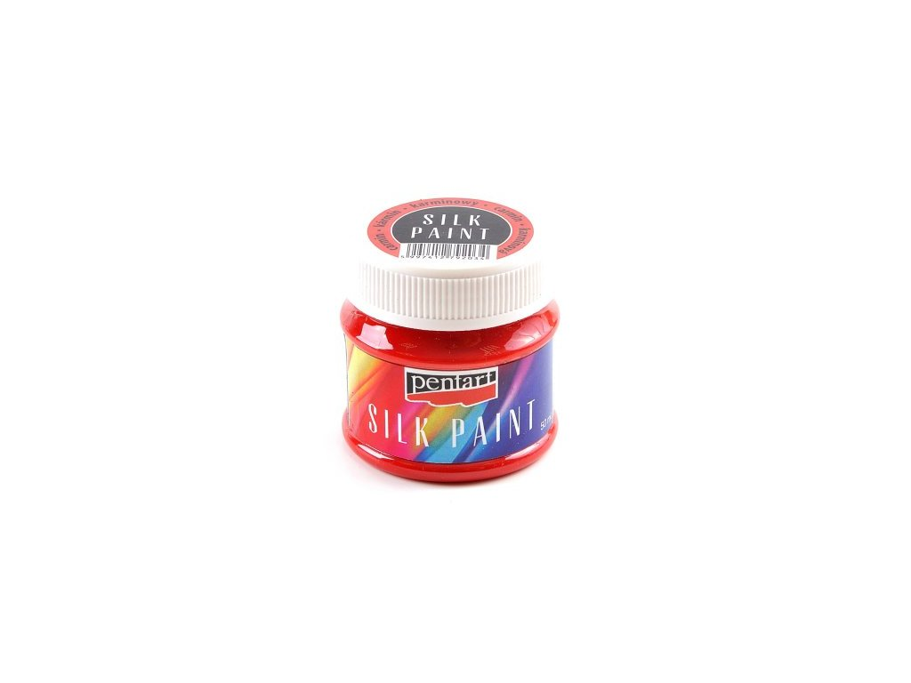 Farba na hodvab karminová cervena 50ml 17769 silk paint