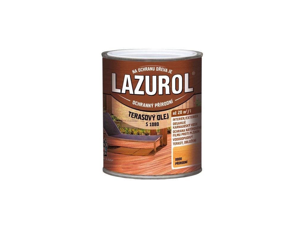 Lazurol terasový olej S 1080 0,75L Prirodný