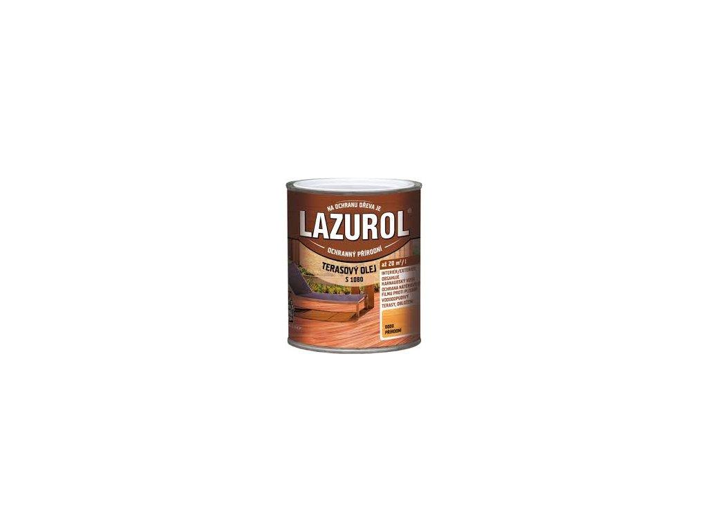 Lazurol terasový olej S1080 2.5l Prirodný