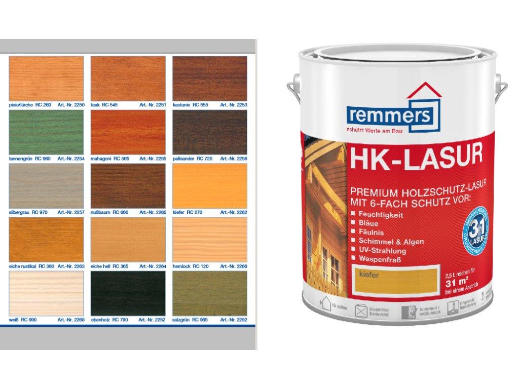 Remmers HK-Lasur 5l mix odtienov