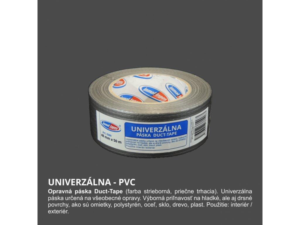 UNIVERZÁLNA páska DUCT-TAPE 48 mm x 50 m 0380