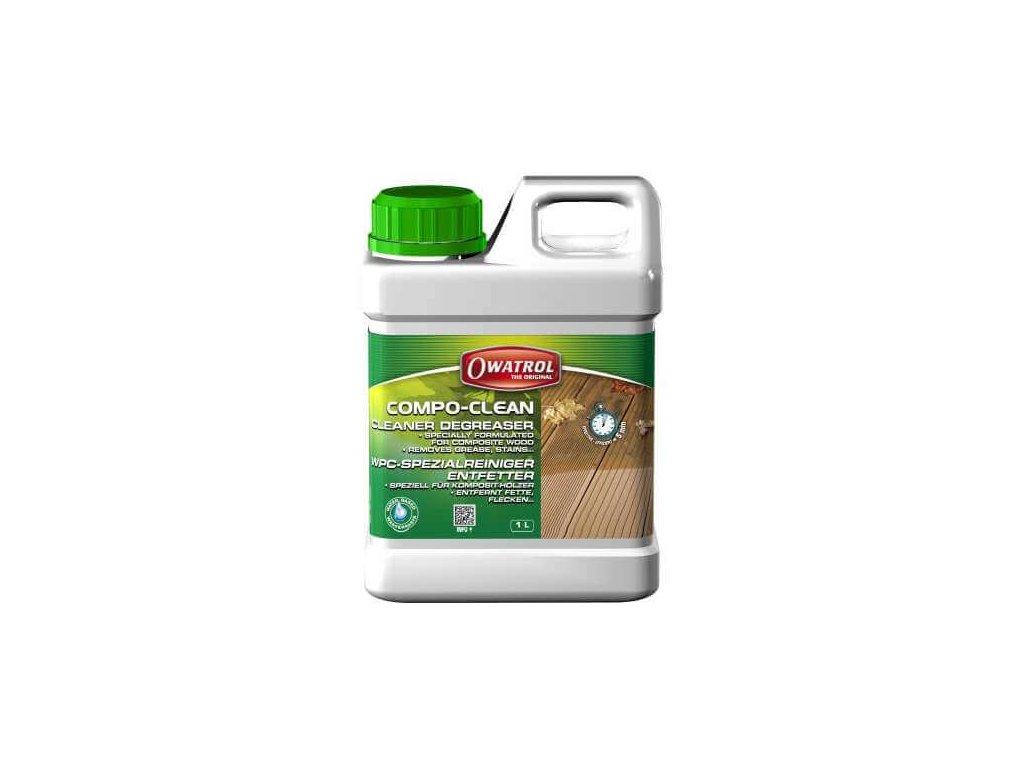 Owatrol COMPO-CLEAN - čistič a odmasťovač kompozitného dreva 1L