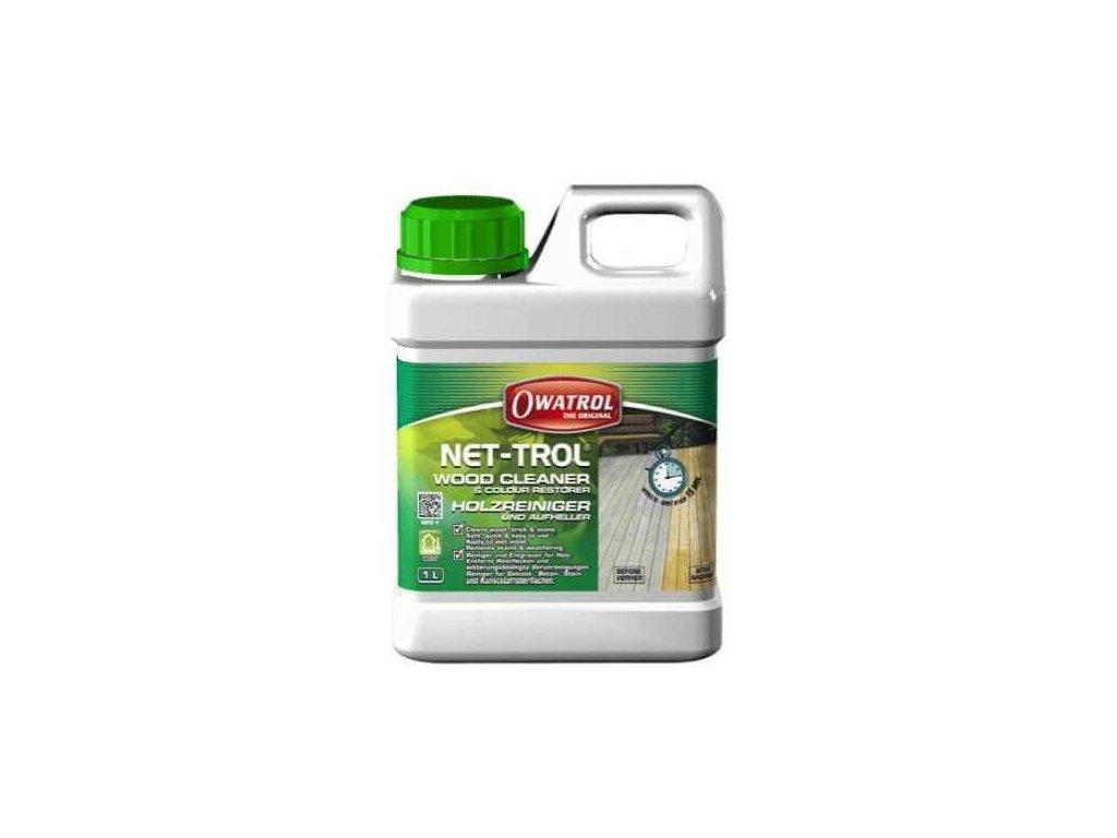 Owatrol NET-TROL - 1L odstraňovač šedi a čistič povrchov