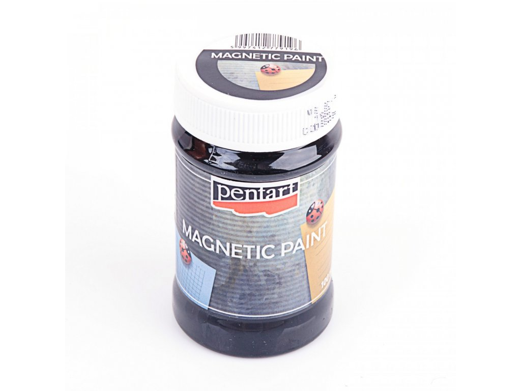 Magnetická farba 100 ML, ČIERNA  6254