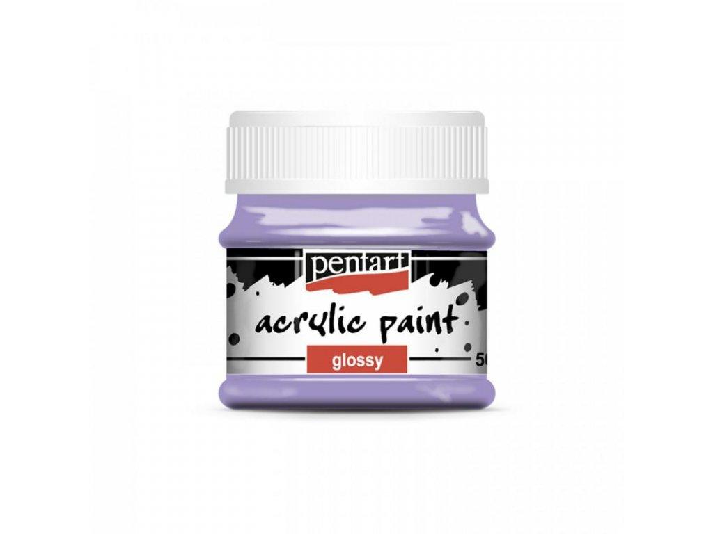 akrylova farba leskla 50 ml svetlofialova