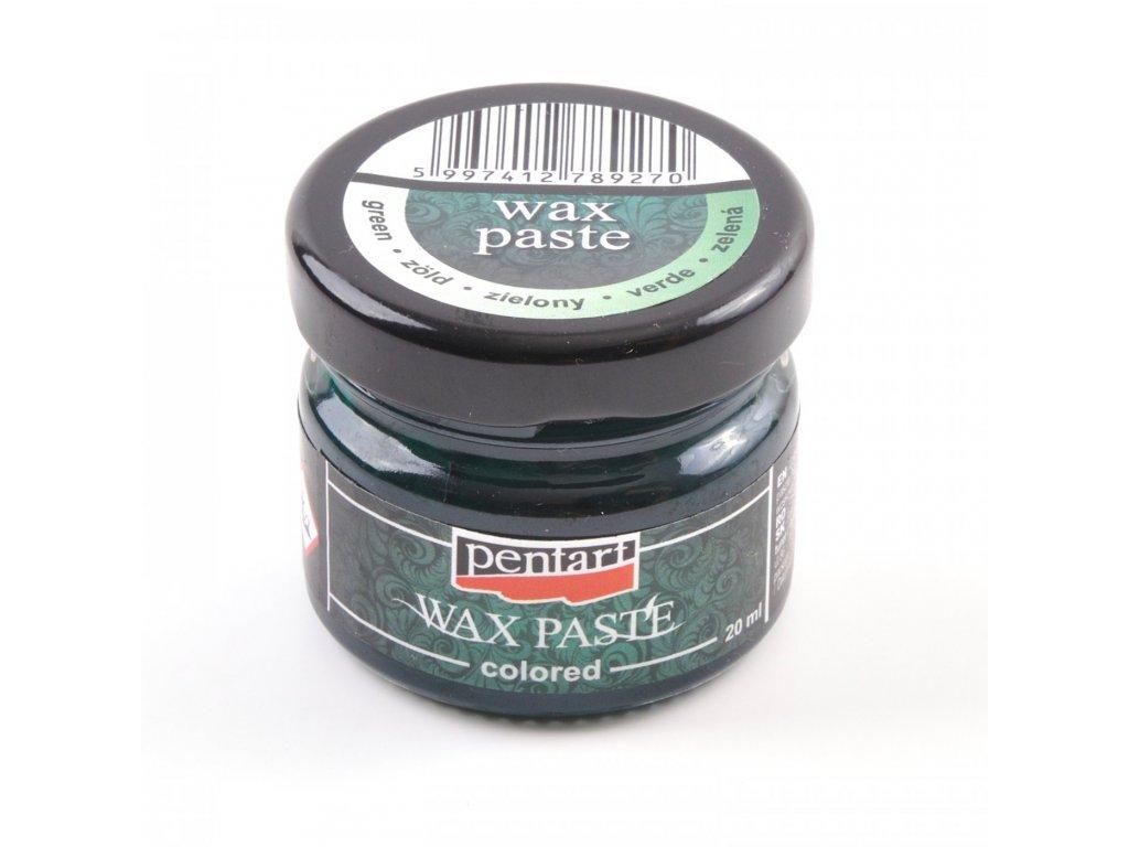 Vosková pasta, farebná, 20 ml, zelená 26676