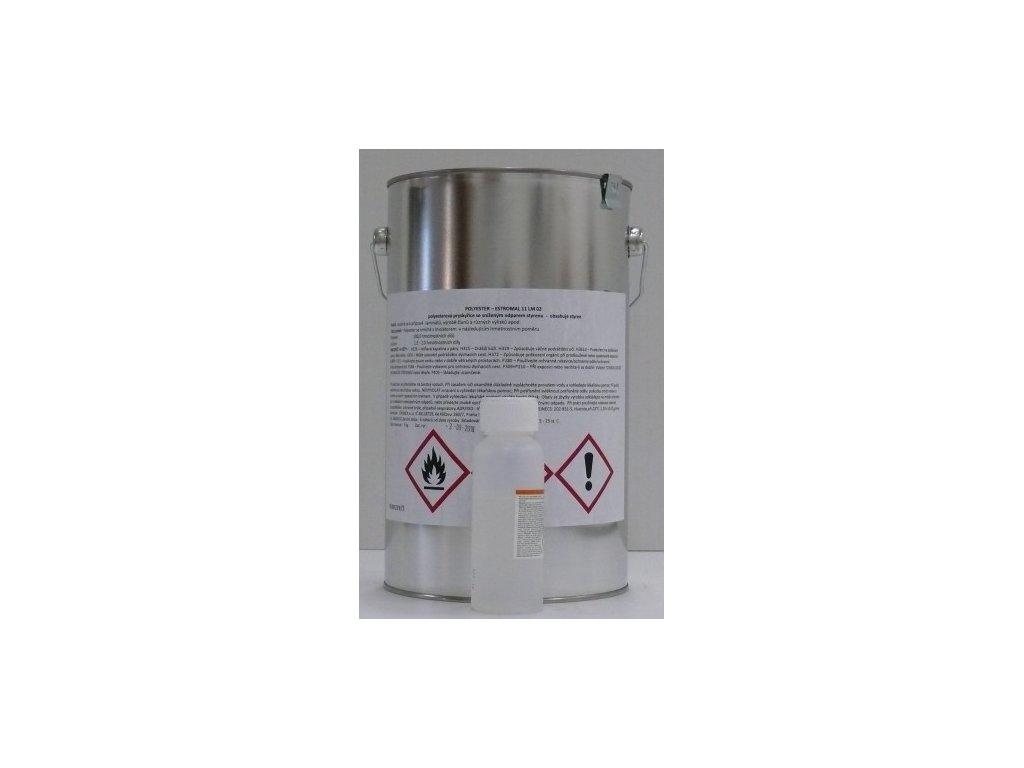 Chemex Estromal 11 LM02 POLYESTEROVÁ ŽIVICA 5 KG + Iniciator 100 GR.