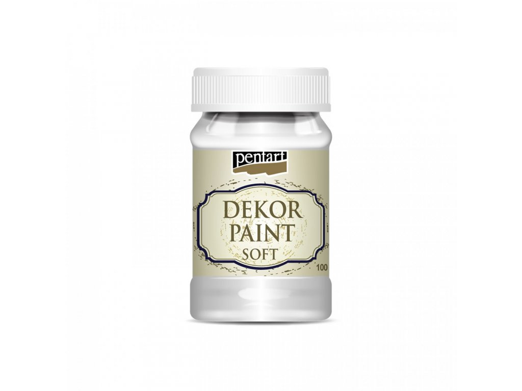 Dekor Paint Soft 230ml, biela 21482