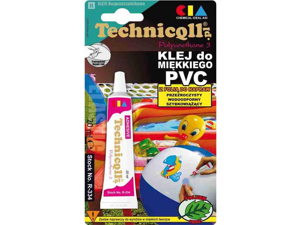 TECHNICOLL Lepidlo na mäkké PVC R-334 20ml