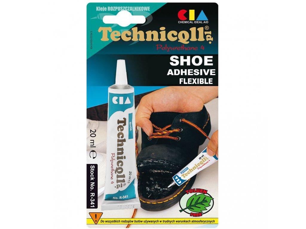 TECHNICOLL Lepidlo na topánky R-341 20ml