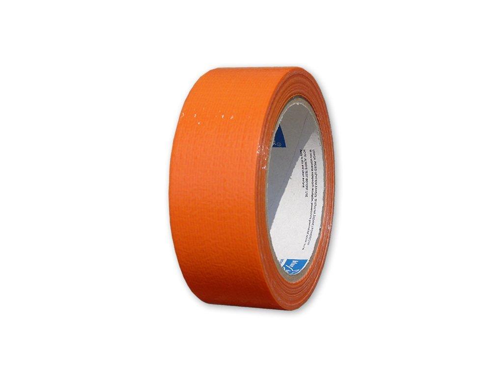Páska stavebná oranžová 48mm x 20m