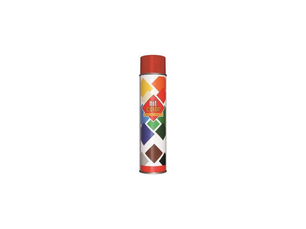 Hitcolor sprej ral 3000 600ml cervena ohniva