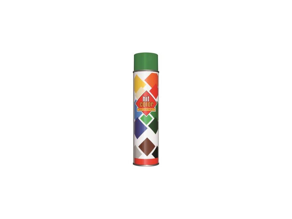 Hitcolor sprej ral 6001 600ml smaragdova zelena