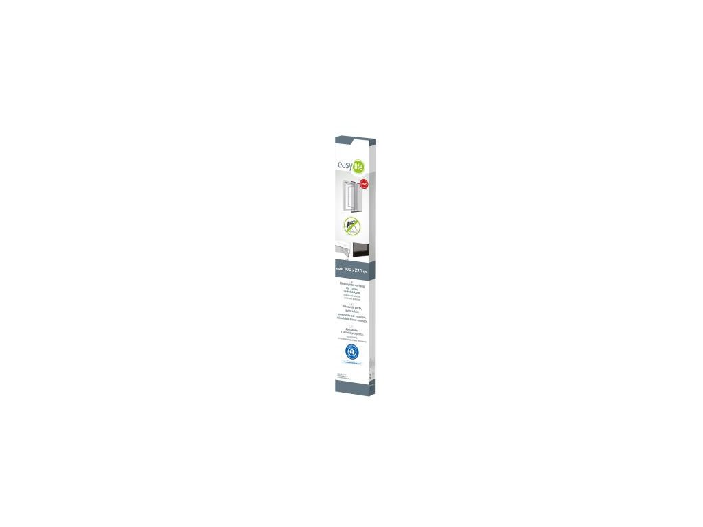Zaves lamelovy dverovy proti hmyzu 100*220cm cierny 88-000-1111 basic B