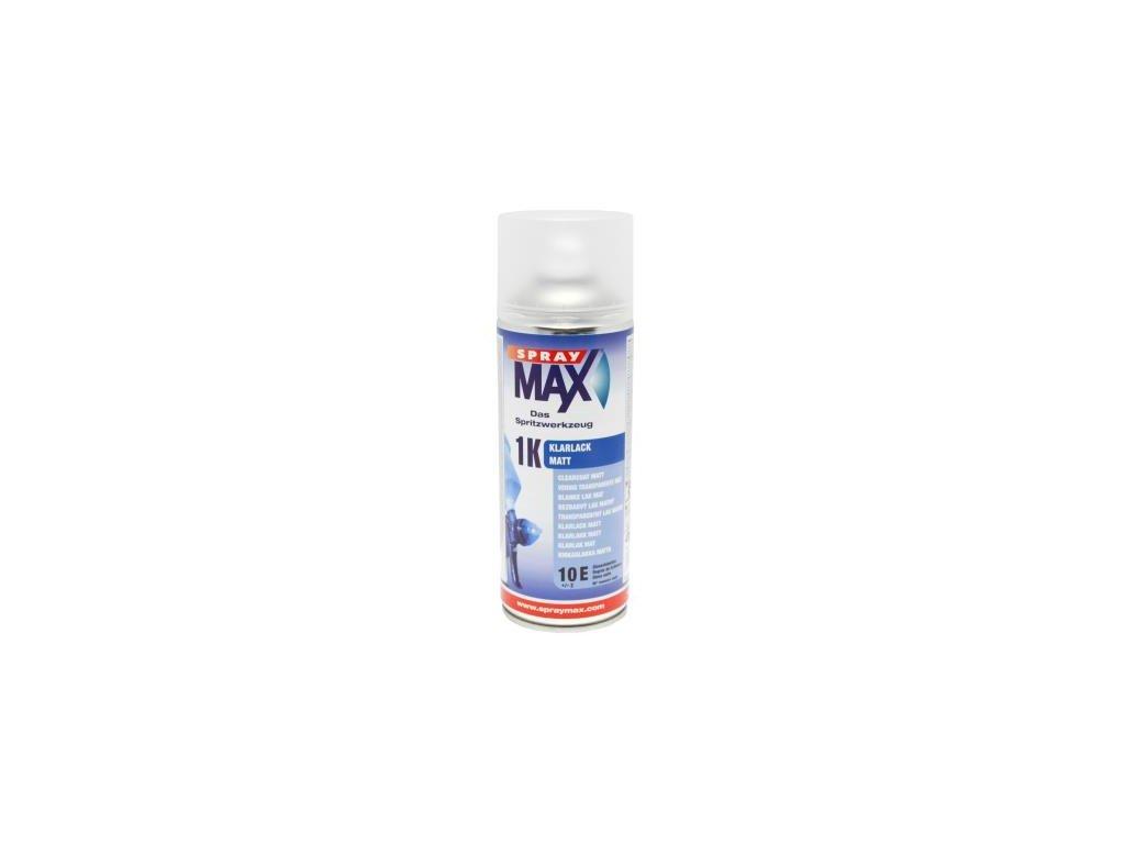 Sprej MAX 1K Bezfarebný jednozložkový lak 400 ml matný 680 050