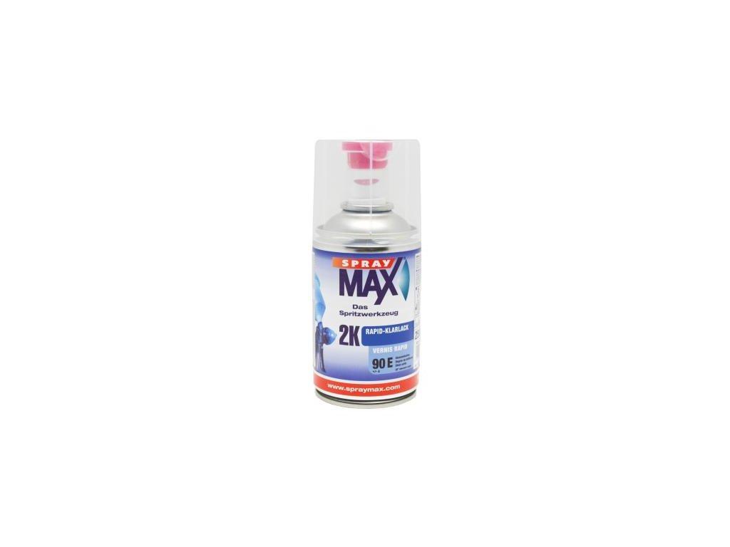Sprej MAX 2K Rapid  bezfarebný lak 250 ml lesklý 684 064