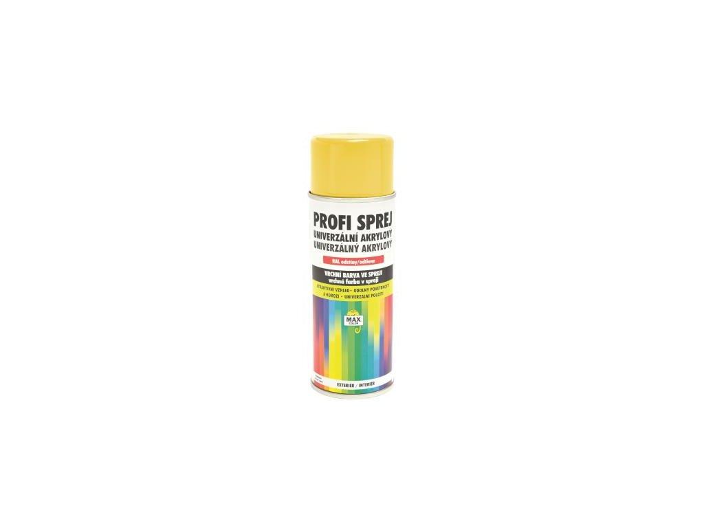 SPREJ PROFI akrylový lesklý RAL 1021 žltá horčicová 400 ML