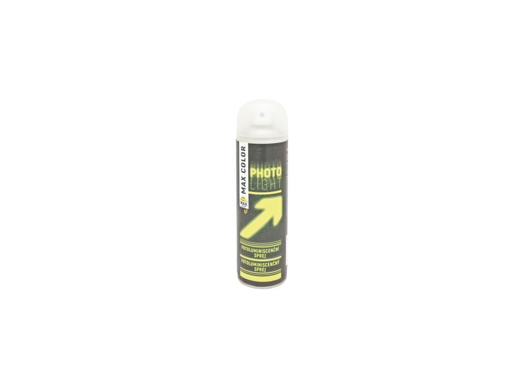 MAX COLOR fotoluminiscenčný  sprej 500ml fosforová zelená transparentná 618100