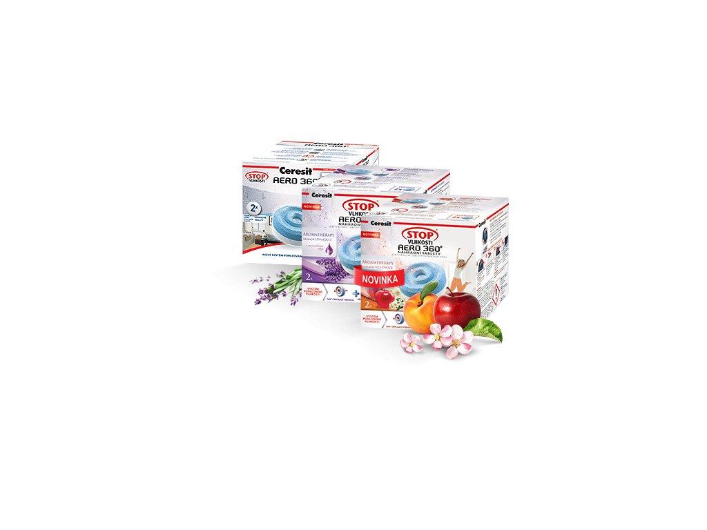 Ceresit STOP Vlhkosti - náhradné tablety 2x450g aero