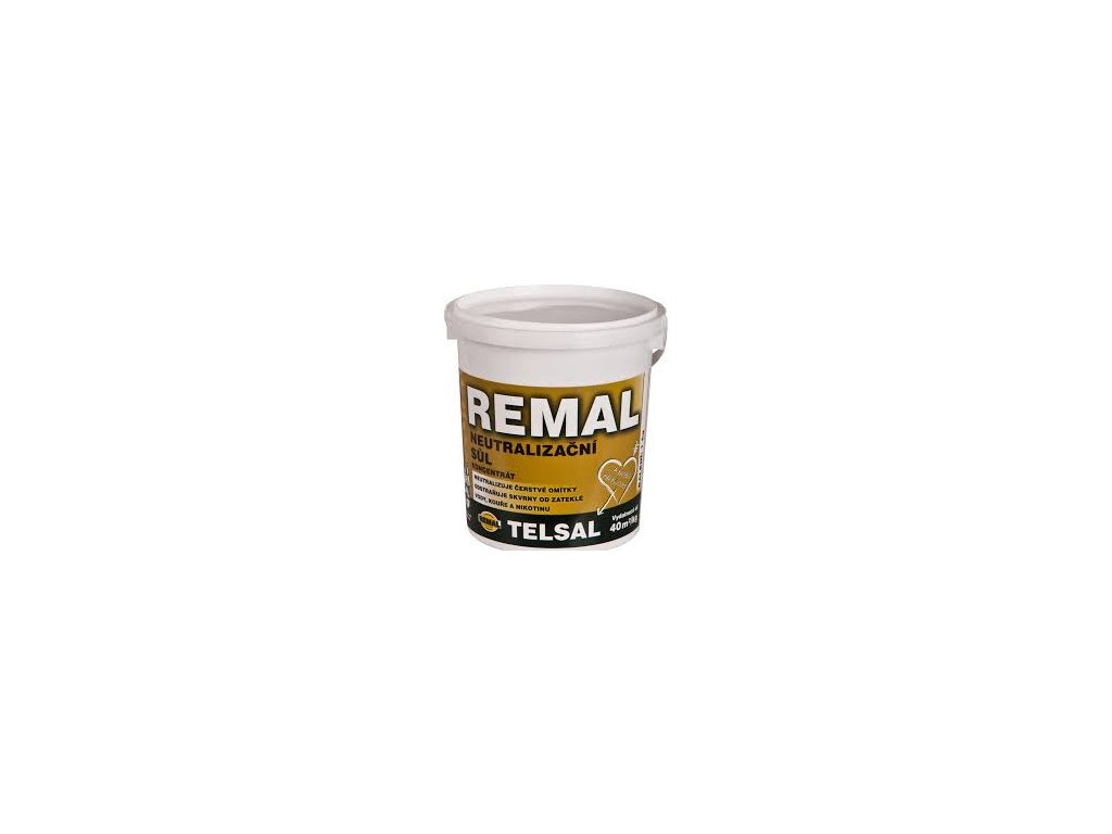 REMAL TELSAL neutralizačná soľ 3kg- nikotin