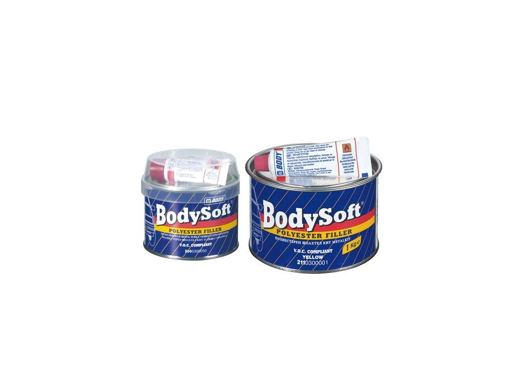 BODY Soft 2K polyesterový  tmel bežový 1kg