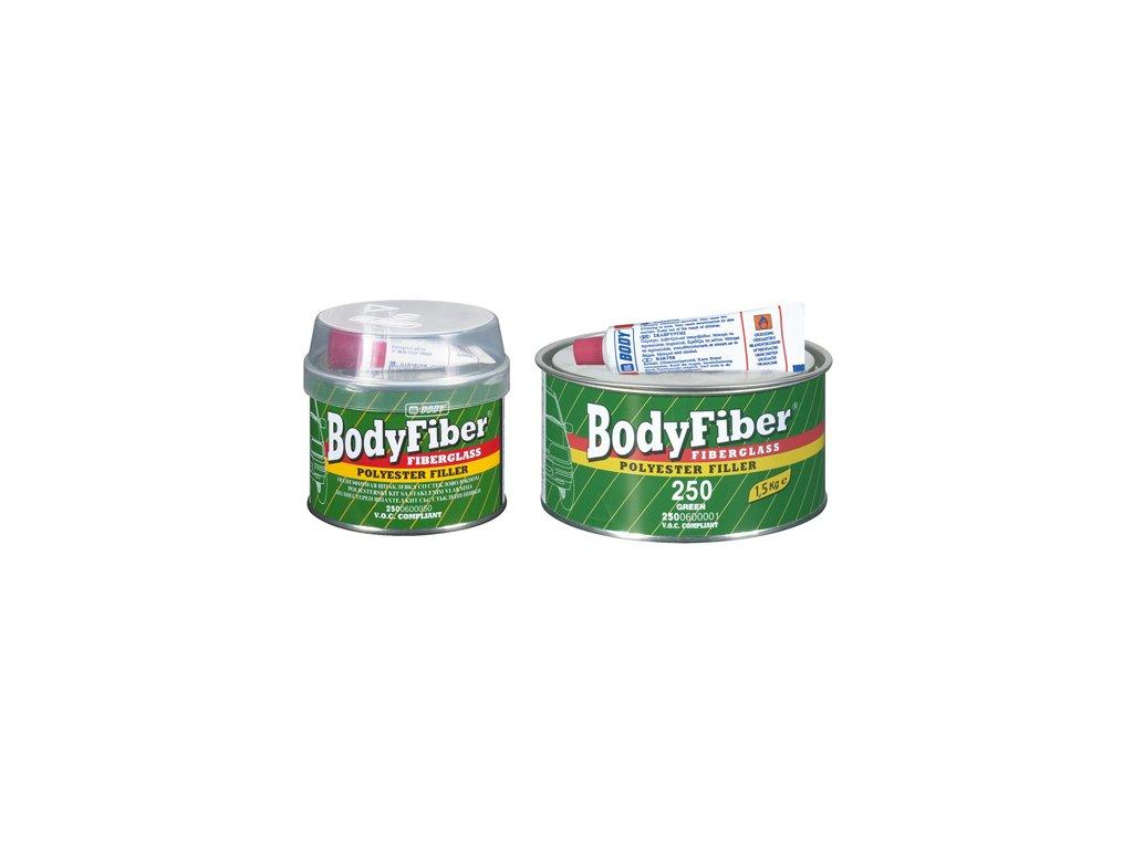 BODY Fiber 2K polyesterový tmel so sklenným vláknom 250g zelený