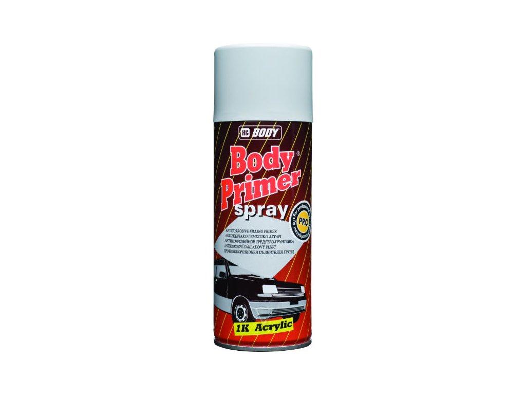 BODY Primer Spray 1K acrylic plniaci tmel šedý 400ml