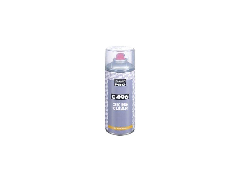 BODY Autoclear 496 Spray 2K bezfarebný lak 400ml
