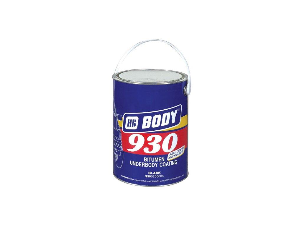 BODY 930 izolačný proti hlukový materiál čierny 5kg (šuc)