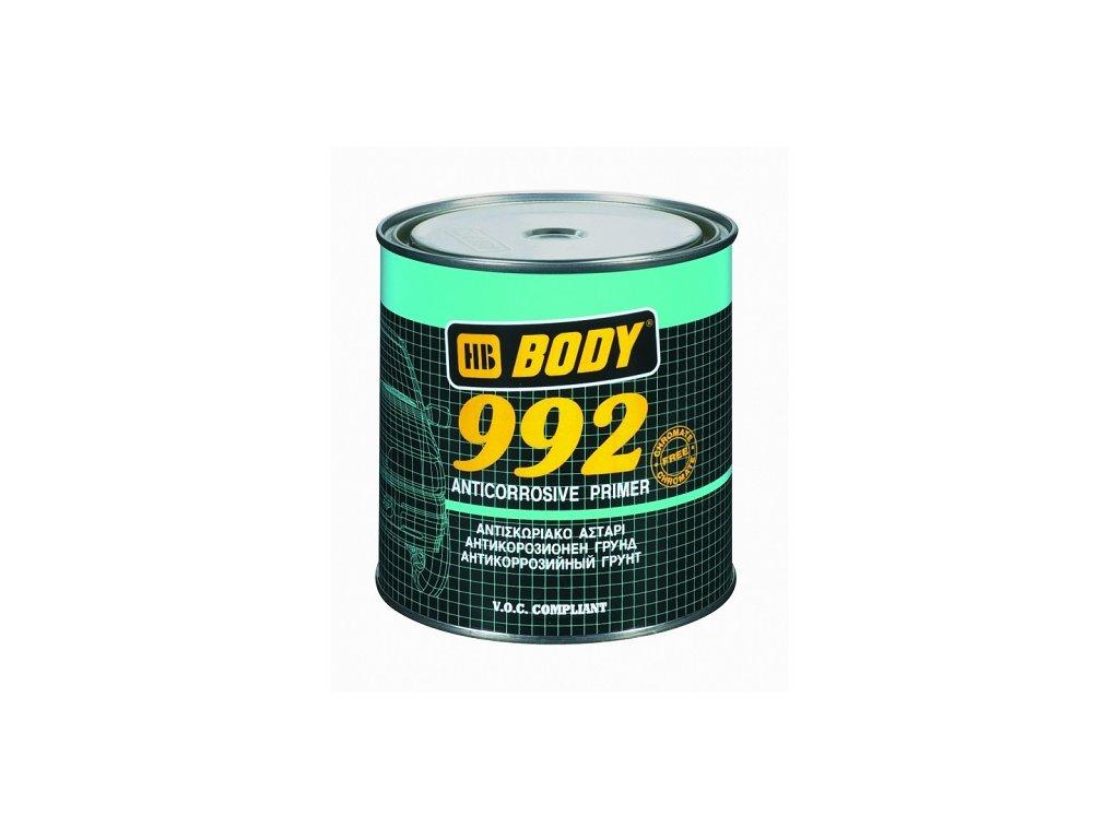 BODY 992 antikorózny základ čierny 1kg