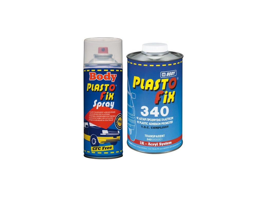 BODY Plastofix SPRAY základ na plasty 400ml transparentný
