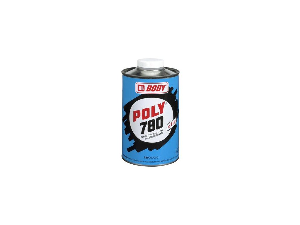 BODY POLY 780 riedidlo do polyesterových látok 1l