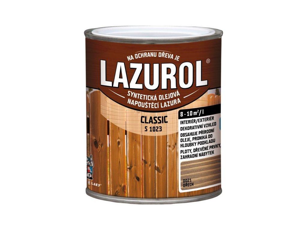 LAZUROL Classic tenkovrstvá 2,5l mix podla vzorkovníka