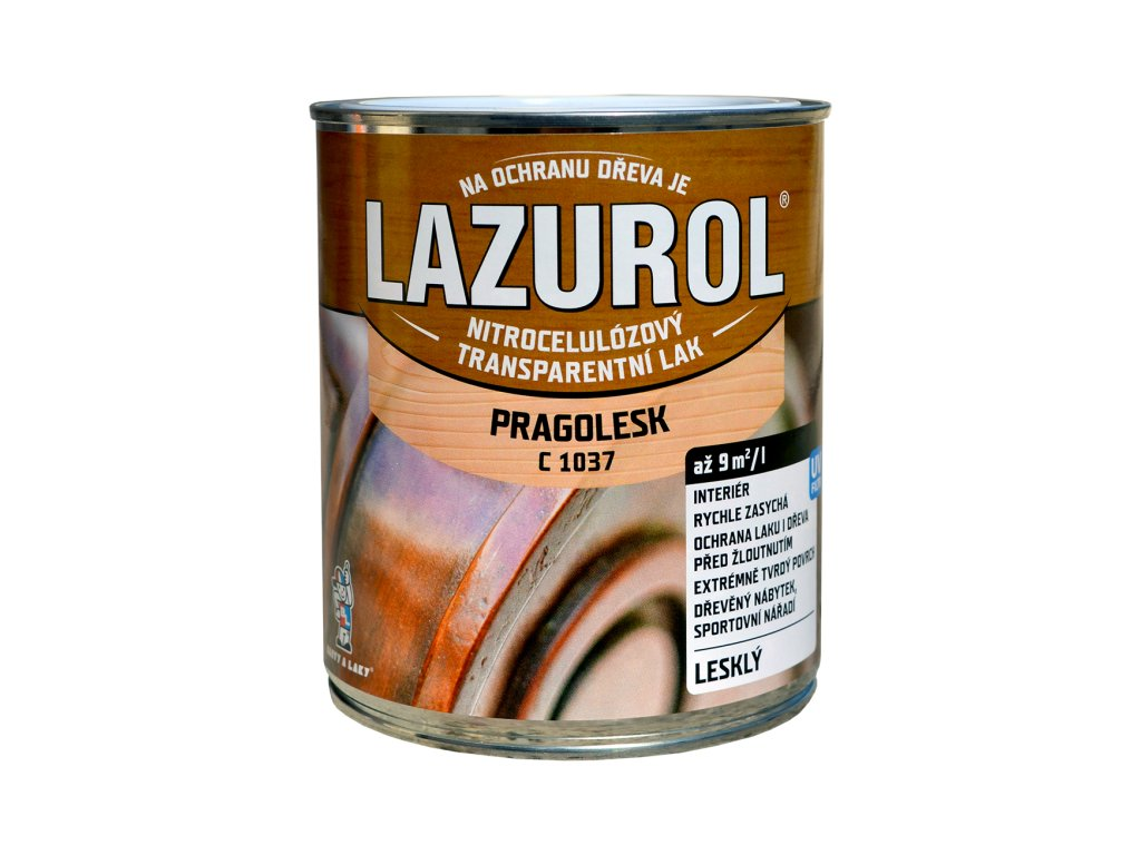 LAZUROL Pragolesk lak 0,375 C1037