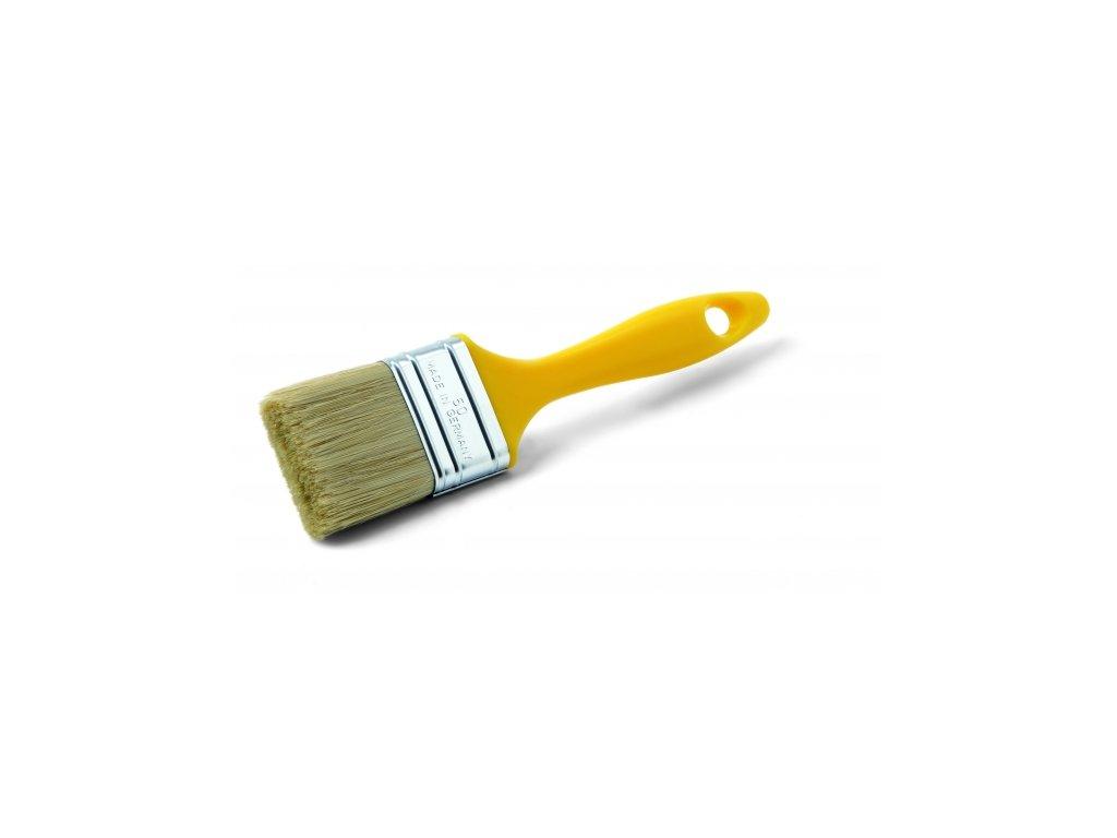 Štetec plochý MERCATO M -žltý 80mm 72347
