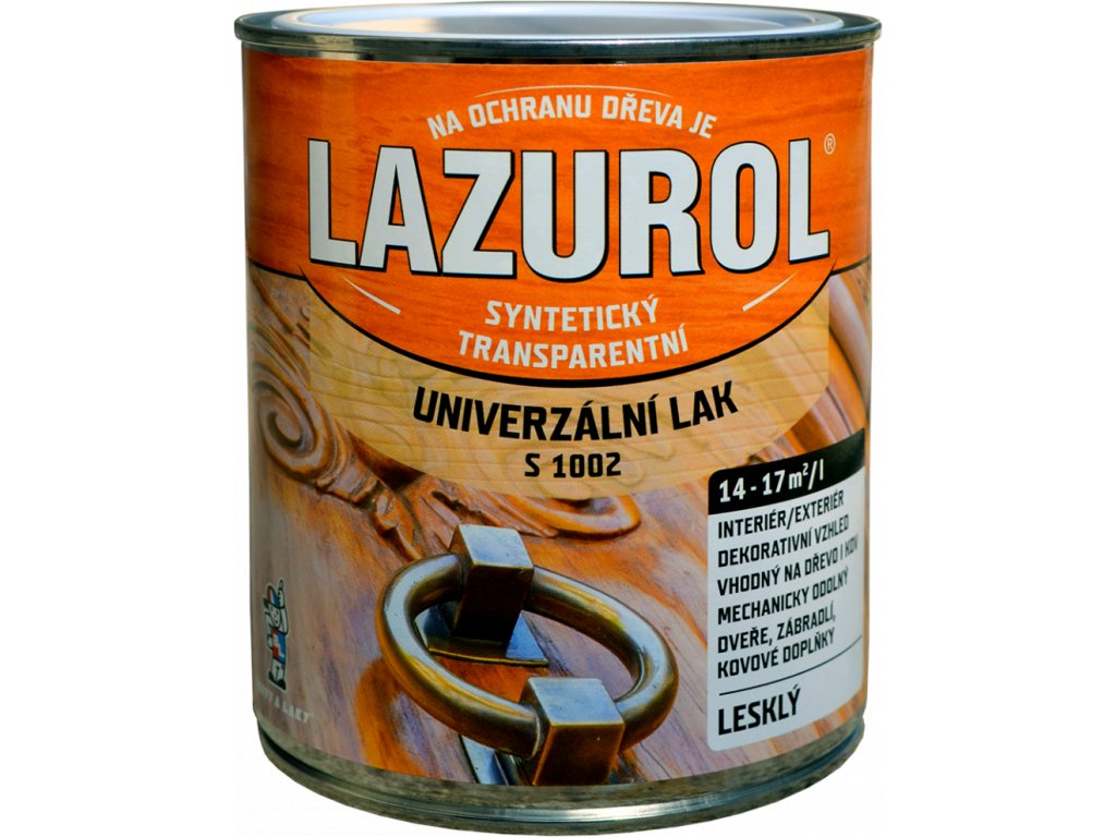 LAZUROL Lak S 1002 4L lesklý