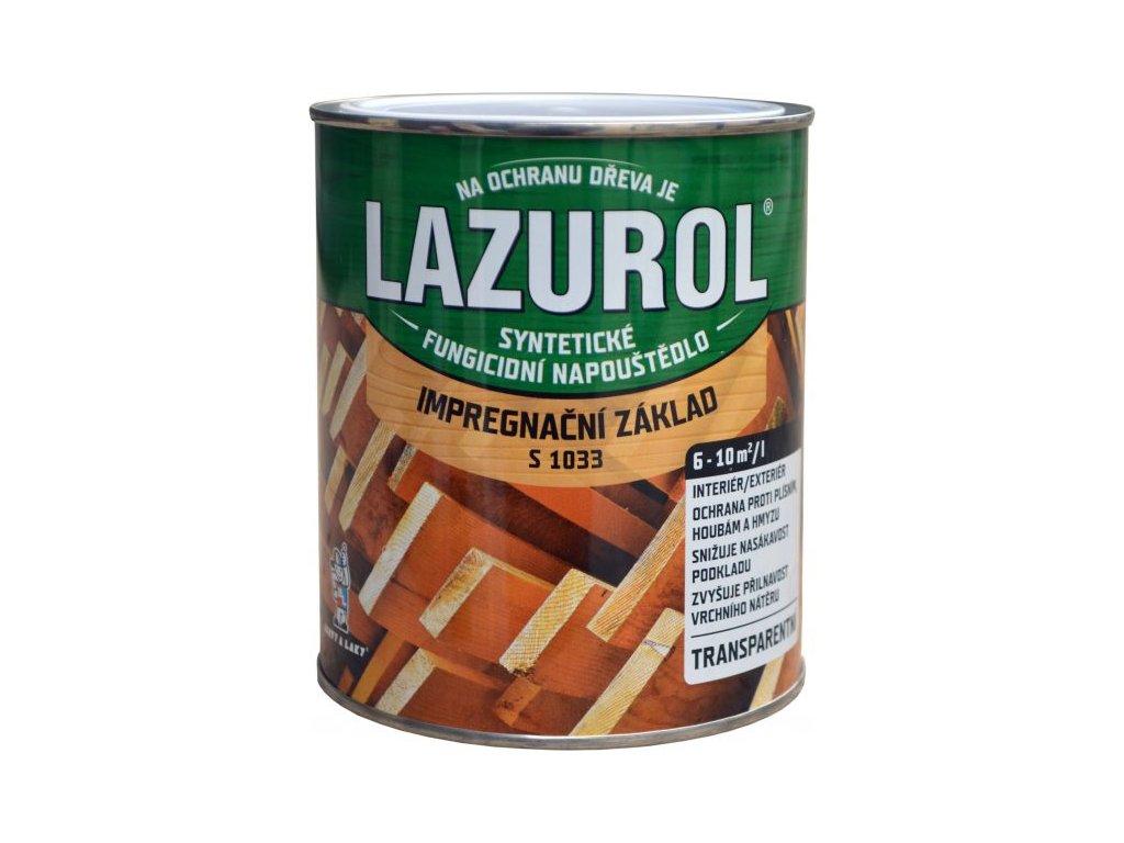 LAZUROL Základná impregnácia 0,75L S1033