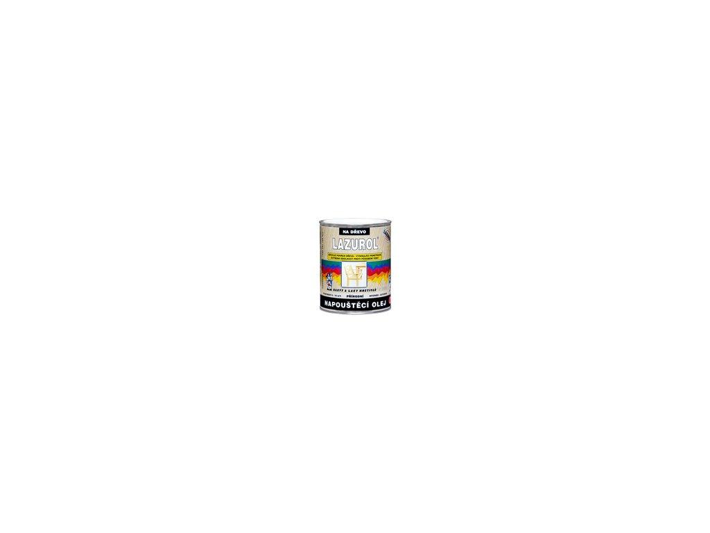 LAZUROL Napúšťací olej 0,75L S1039 prírodný