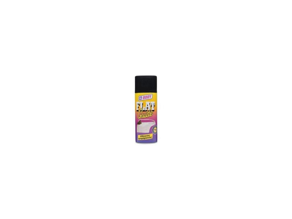 BODY Flat guide -kontrol spray čierny 400ml