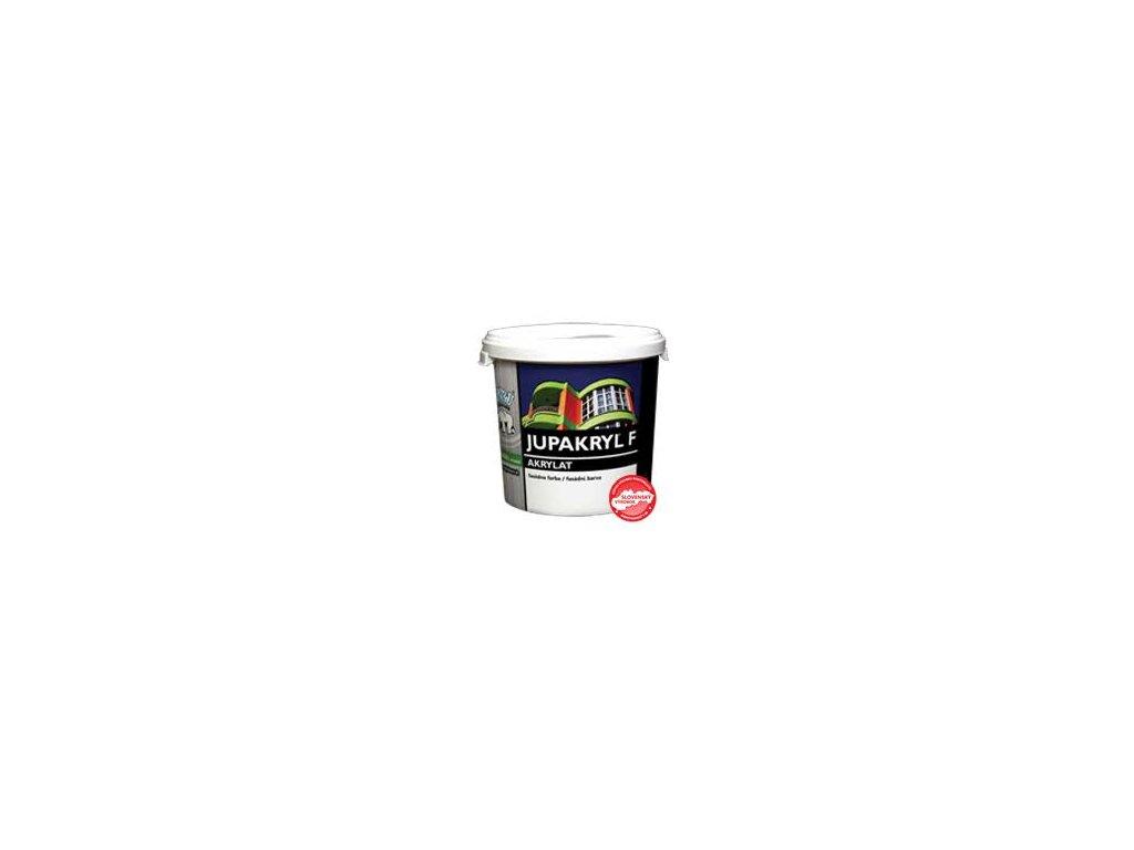 JUPAKRYL F akrylátová fasádna farba 0,8kg biela