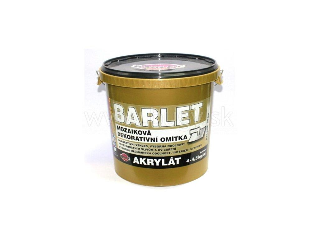 BARLET zateplovacia omietka akrylát ryhovaná 25kg biela